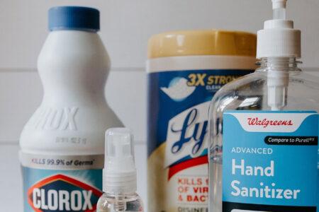 Magazzino e stoccaggio prodotti per l'igiene e profumi